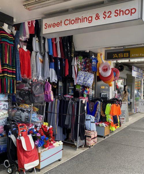 Sweet Clothing & $2 Shop
