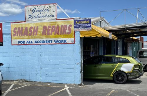Ganley and Richardson Smash Repairs